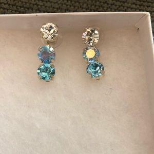 Jewelry - Earrings, rhinestone style